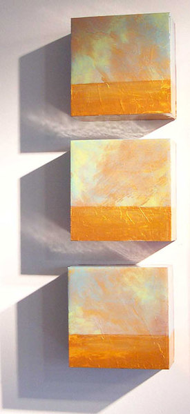 Messages from the Wind (triptych) SOLD