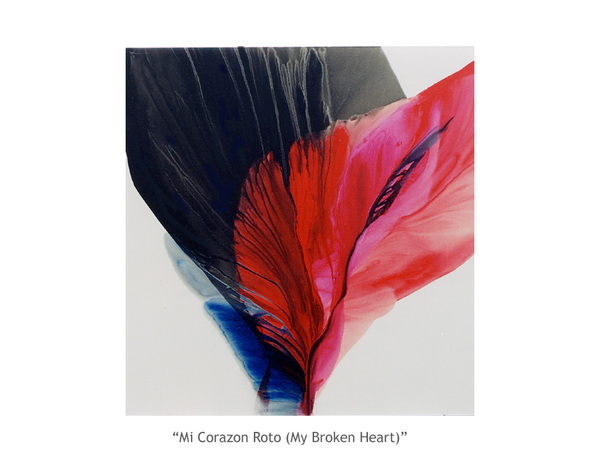 mi corazon roto - the painting